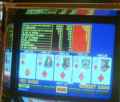 Video Poker Pay 72779
