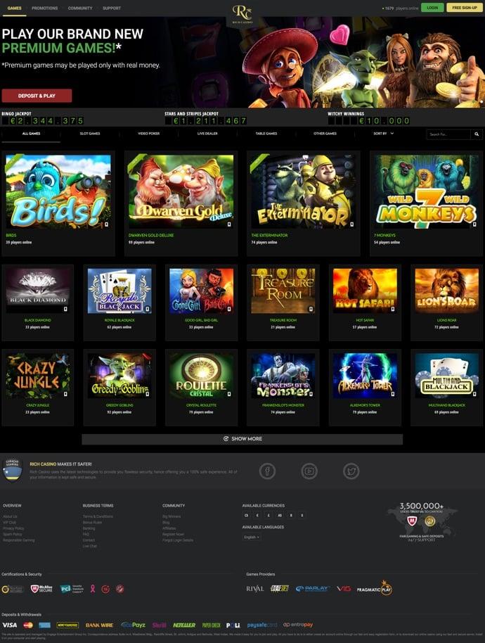 Rich Casino Online 55717