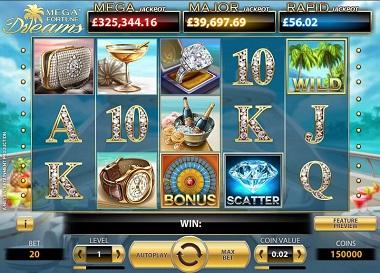 Mega Fortune Dreams 37030
