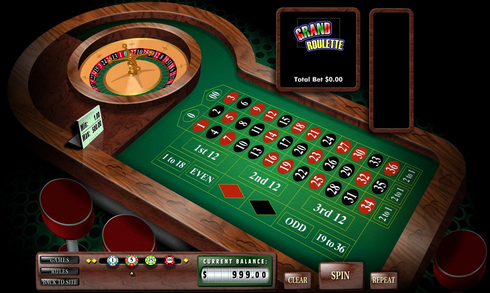 Roulette Strategy to 65518