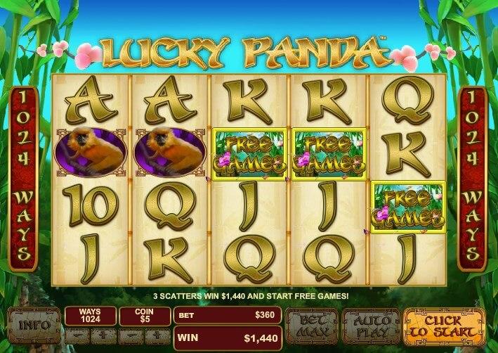 Lucky Panda Slot 59294