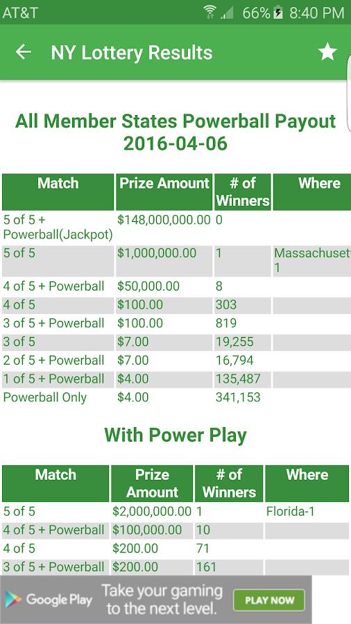 Quick Pick Win 16634