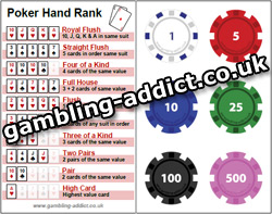Poker Chip Values 97590
