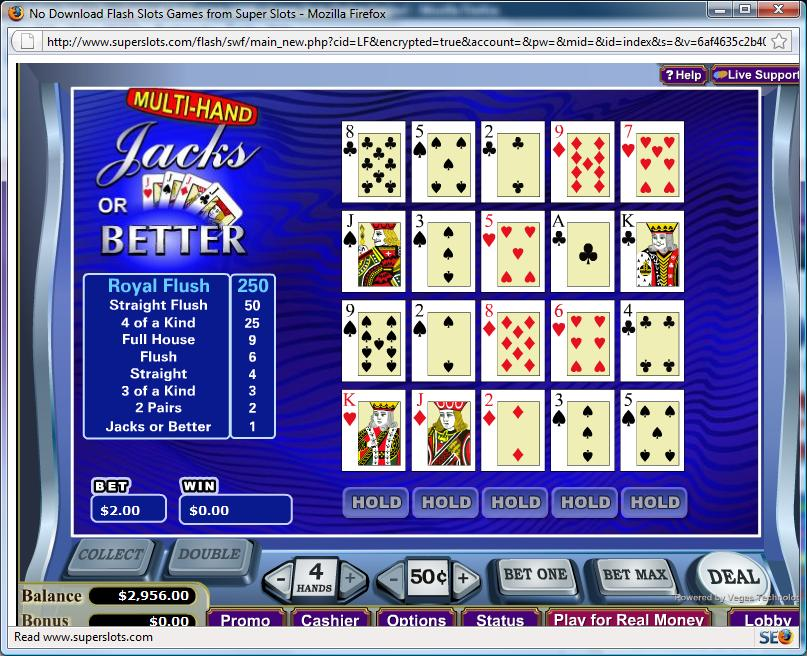 Video Poker Pay 79901