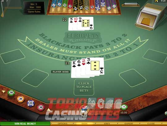 Real Money Blackjack 30225