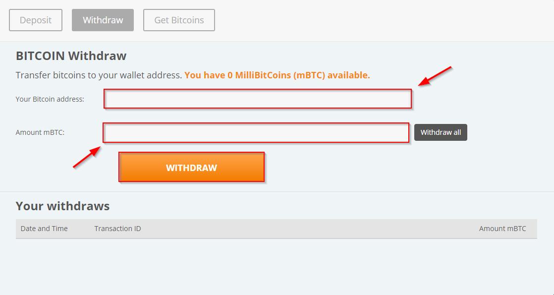 Casino Bitcoin Withdrawal 12511