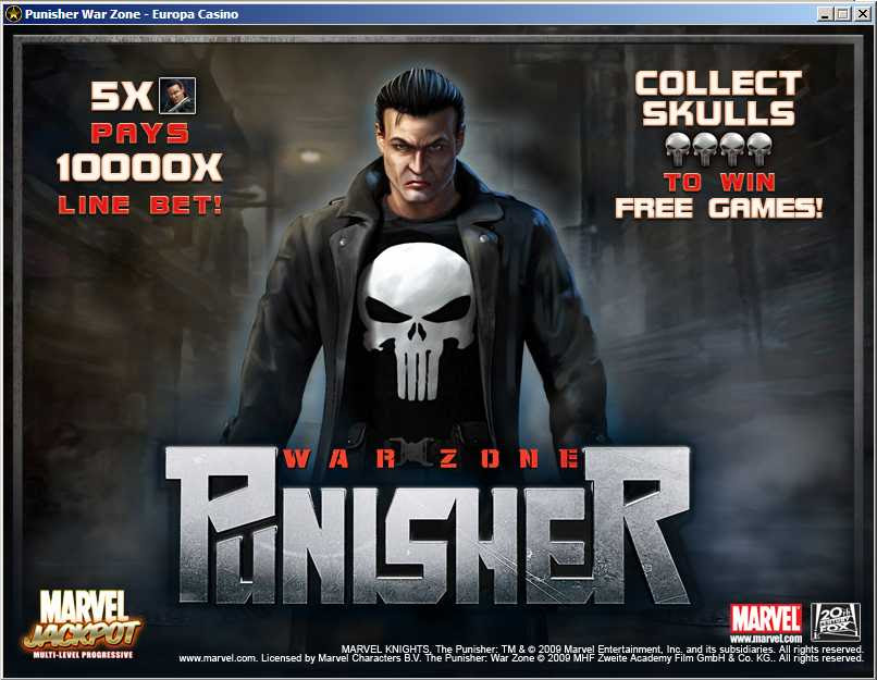 Punisher War Zone 99328