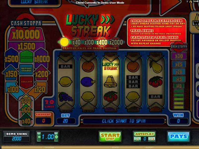 Lucky Streak Uptown 42284
