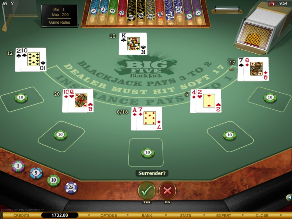 Blackjack Bet Spread 66711