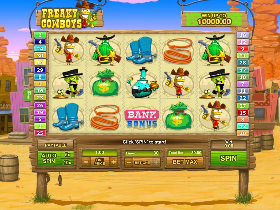 Cowboys Slot 29232