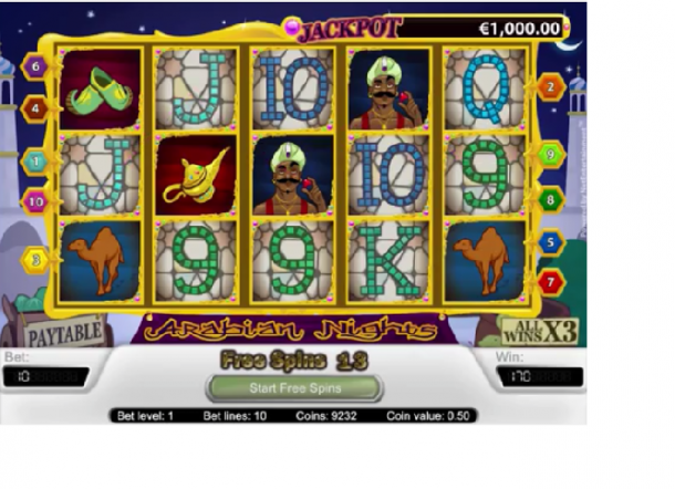 Arabian Nights Slot 86931