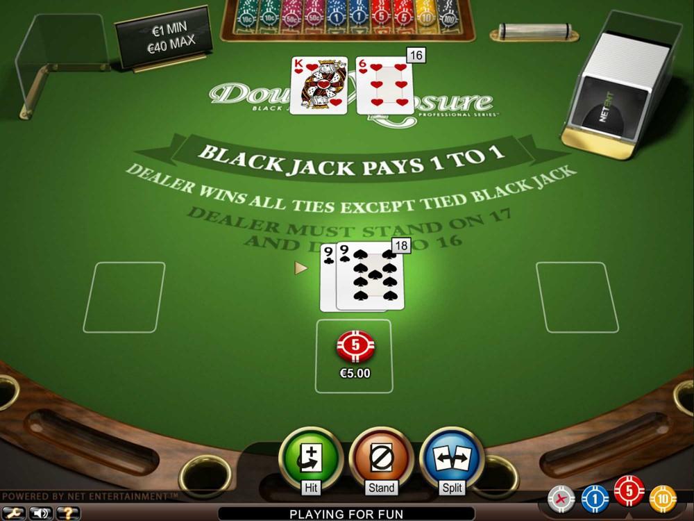 Double Exposure Blackjack 31734