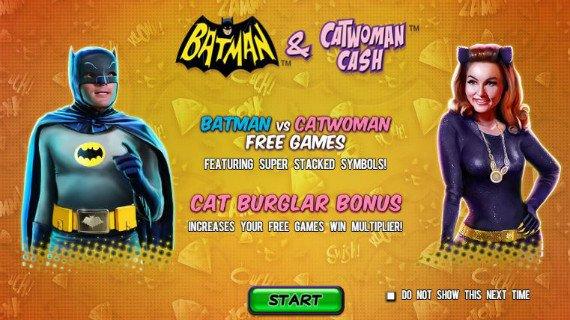 Batman Catwoman Cash 27542