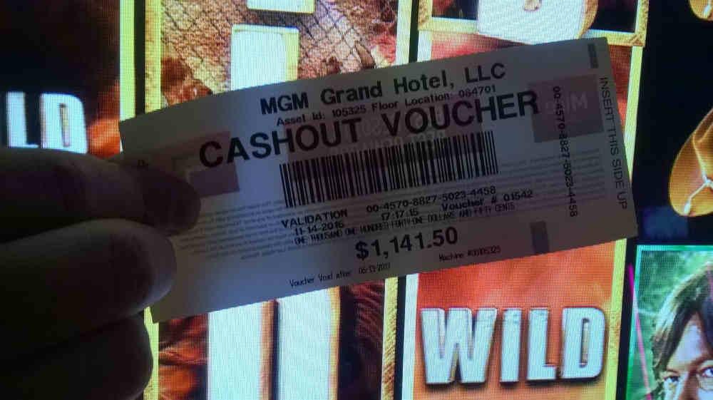 Cash Out Vouchers 45325