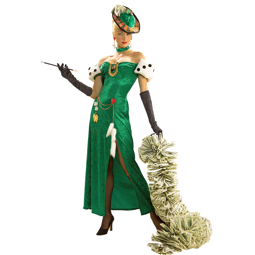 Casino Girl Outfit 72902