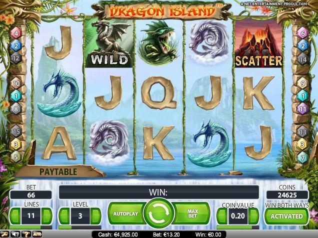 Dragon Island Slot 61200