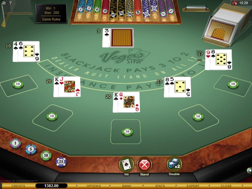 Double Exposure Blackjack 25480