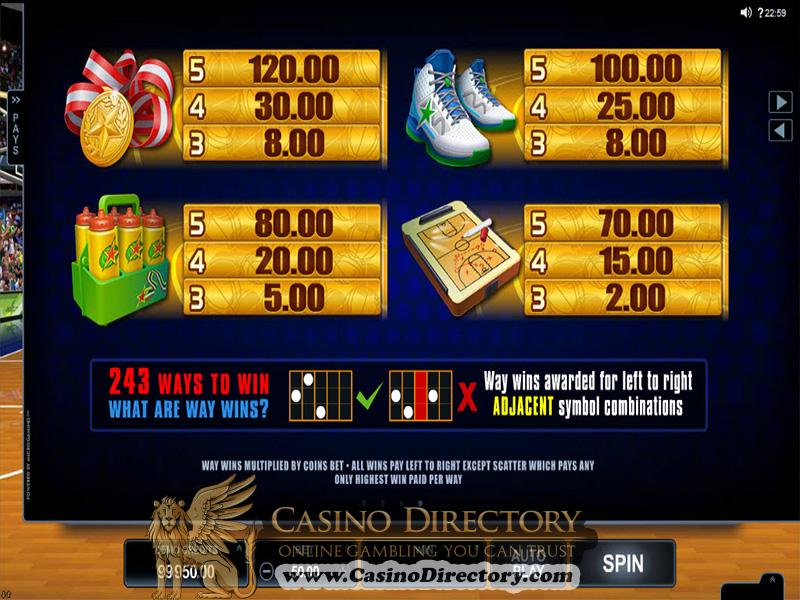 Casino Bonus 16999