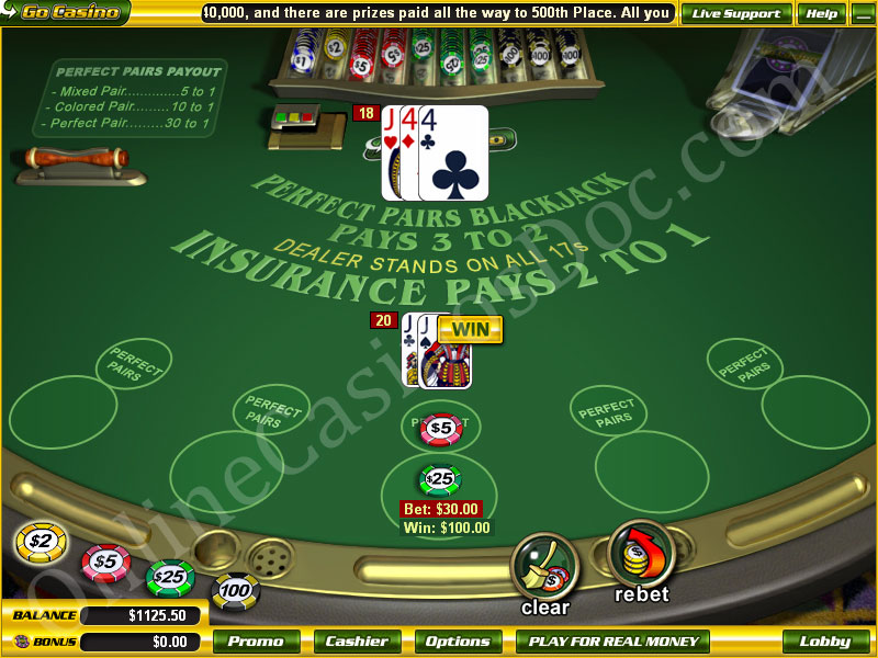 European Blackjack Online 73854