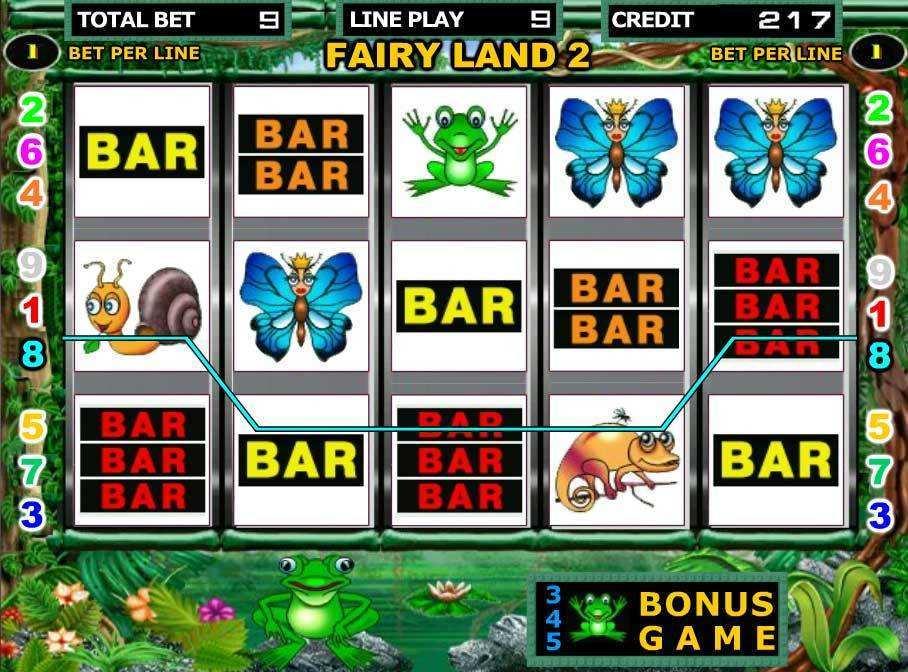 Slot Machine Bet 76229