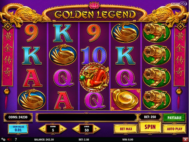 Golden Legend Slot 64882