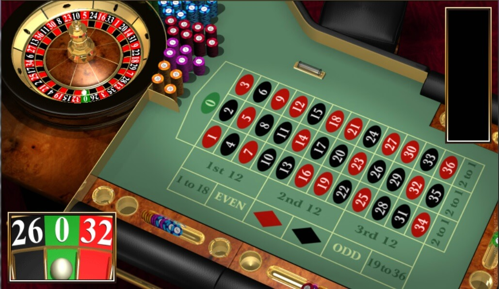 Roulette Strategy to 31845
