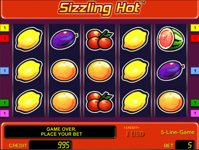 Sizzling Spins Slot 48768