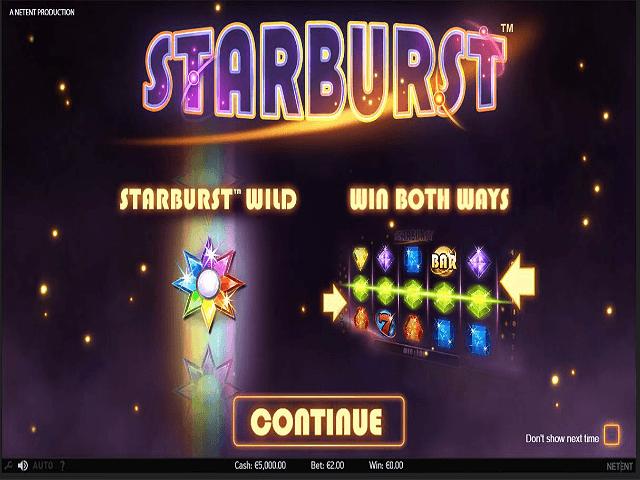 Starburst Slot 65761