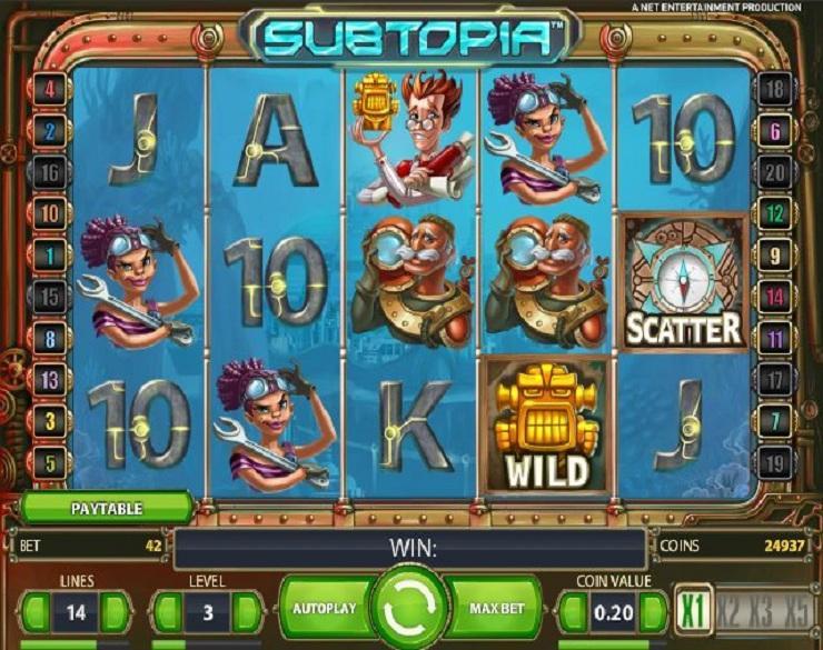 Subtopia Slot 16576