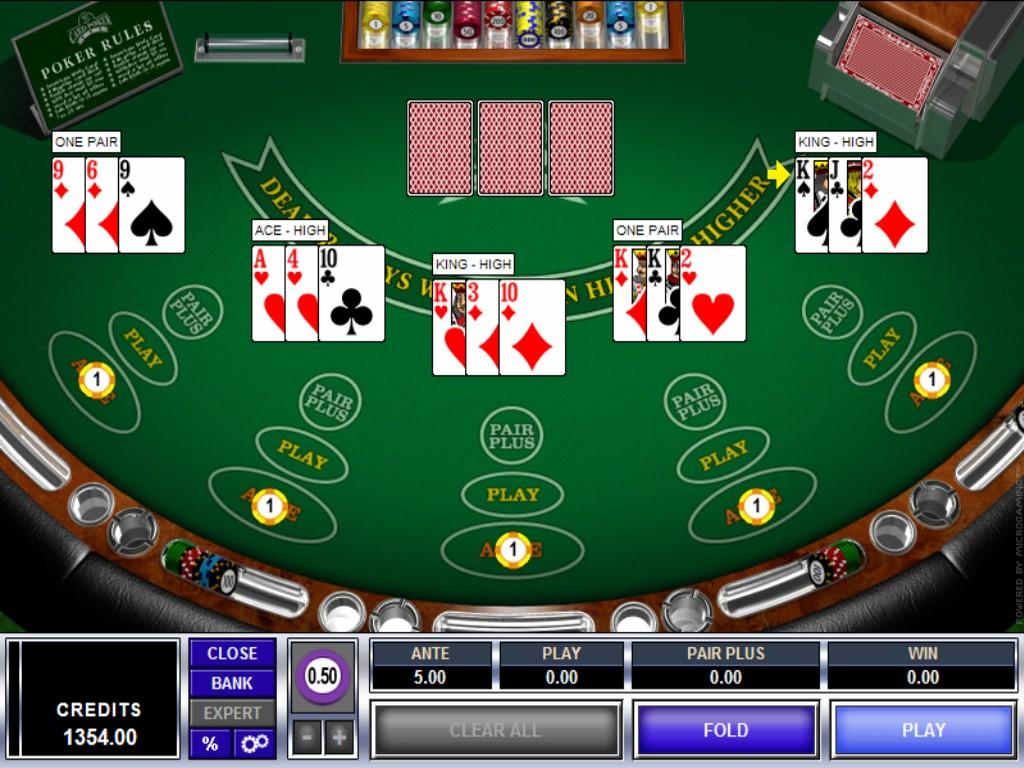 Three Card Poker 28690